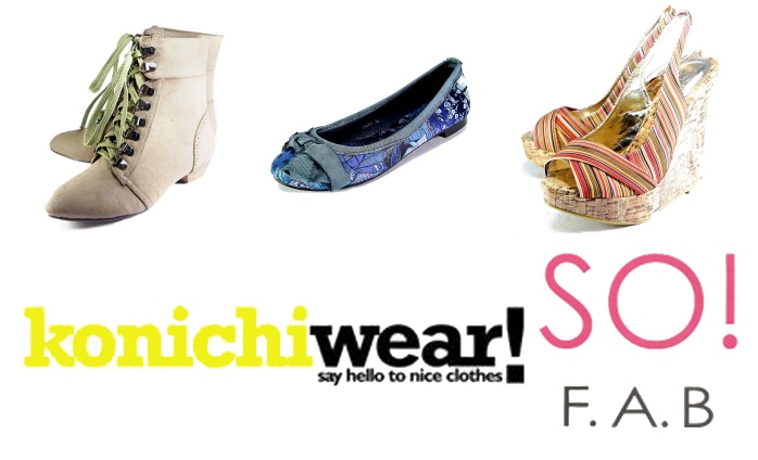 Konichiwear and So Fab! Shoe Giveaway